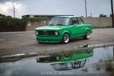 Signal Green BMW 2002 Turbo Is a Work of Art