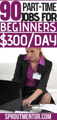Make Side Money, Ways To Earn Money, Earn Money From Home, Way To Make Money, Make Money Online, Legit Work From Home, Work From Home Tips, Job Info, Part Time Jobs