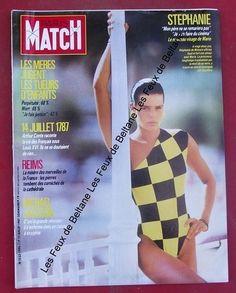 Paris Match N° 1990, 1987,Stephanie de Monaco
