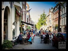 Piet Heinstraat: shopping, lunching, dining (foto Piet Gispen)