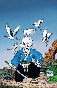 ComicList: Dark Horse Comics New Releases for Comic Movies, Comic Book Characters, Comic Books Art, Comic Manga, Anime Comics, Manga Anime, Usagi Yojimbo, Luca, Samurai Jack
