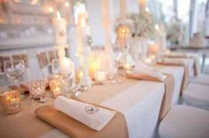 Country Table Decor From rusticweddingchic.com