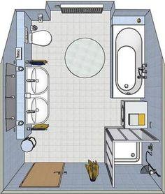Badezimmer Beispiele 10 Qm - Beispielbilder Aus Unserer 3 D ... Badezimmer 10 Qm