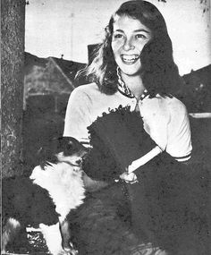 Pier Angeli frolicking with dogs | Flickr - Photo Sharing!