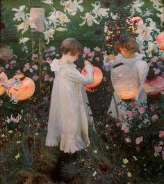 John Singer Sargent, Carnation, Lily, Lily, Rose, 1885-6