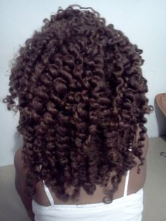 Chunky long twist out. <3 it!