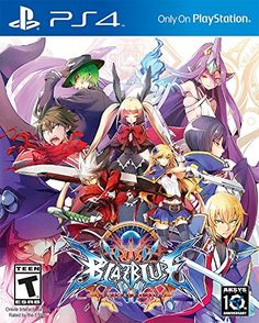 BLAZBLUE: CENTRAL FICTION // Aksys Games ** A Brand New Chapter in the Saga - A massive story mode coupled with new modes and mechanics will keep you coming back for more! Newest Playstation, Latest Video Games, Single Player, Fighting Games, Cultura Pop, New Chapter, Free Games, Xbox One, Otaku