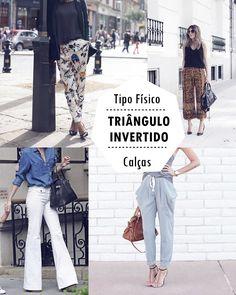 TIPO FÍSICO TRIÂNGULO INVERTIDO - COSTAS LARGAS- O QUE USAR, O QUE EVITAR, Você vai ver o que usar, o que evitar e como se vestir bem independente do peso.