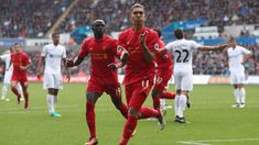 @officiallfc #Mane and #Firmino #9ine
