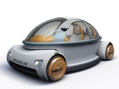 Futuristic Car Solid is a Safety Compact Vehicle | Tuvie