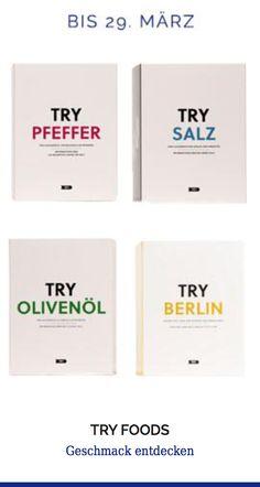 Try Foods #pepper #salt #berlin #oil Try different #tastes