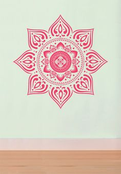 Autocollant grand Mandala Bohème pour salon, dortoir, Yoga, Studio, maison ou chambre à coucher par ZestyGraphics sur Etsy https://www.etsy.com/fr/listing/158090011/autocollant-grand-mandala-boheme-pour