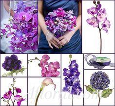 #purple wedding #purple orchid wedding #afloral http://blog.afloral.com/daily-scoop/purple-orchid-wedding-flowers-megans-inspiration-board/#.UfZ9qI32aSo