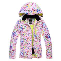 The new ski suits women Korea snowboard waterproof waterproof thickening thick breathable Jacket