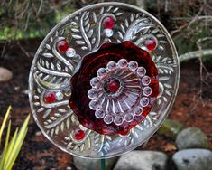 Sun Catcher Glass Garden Art