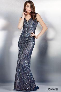 Роза Украшенные рукавов с открытой спиной платье 37950