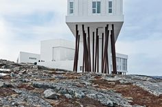 inn on Fogo Island, by Norway-based architect Todd Saunders 29 Rooms, Design Strategy, Norway, Skyscraper, Studios, Multi Story Building, Hotels, Europe, Construction