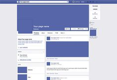 Here is the Facebook 2014 page mockup created with Adobe Photoshop. Free PSD released byZsolt Ihász.