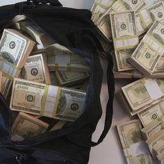 $500,000 Duffle Bag of Prop Money #Bag, #Cool, #Money