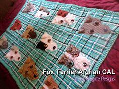 Fox Terrier Afghan CAL Jenna Wingate Designs  Materials list: Sept 8 Stitch…
