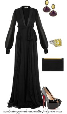 """SKIN OF THE NIGHT"" by andreia-goja-de-carvalho on Polyvore"
