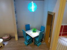 Barbie dinning room made on 3D printer