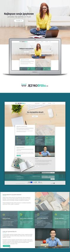 Website and branding for platform to learn english, especially for children.