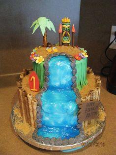 luau cake ✽http://PhilosBooks.com✽