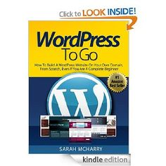 WordPress to Go on Kindle -- how to build a WordPress website on your own domain, from scratch, even if you are a complete beginner. Free Books Online, Books To Read Online, Reading Online, Online Marketing Tools, Electronic Books, Computer Internet, Free Reading, Ebook Pdf, Good To Know
