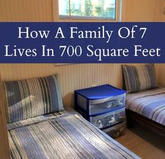 How A Family Of Seven Lives In A Tiny House Tiny House Living With A Family – MomPrepares -- I might not have a family this big, but it seems useful regardless. Small House Living, Small Space Living, Home And Living, Living Spaces, Tiny House Family, Family Houses, Frugal Living, Tiny House Plans, Tiny House On Wheels