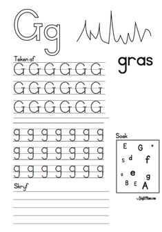 Printable Activities For Kids, Preschool Learning Activities, Preschool Math, Kindergarten Worksheets, Letter Tracing Worksheets, First Grade Worksheets, Numbers Preschool, Alphabet For Kids, Block Lettering