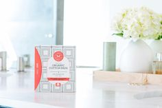 Introducing Honest Feminine Care - products made with GOTS certified organic cotton delivering the comfort and performance you expect. | Honest Organic Cotton Pads With Wings, Super