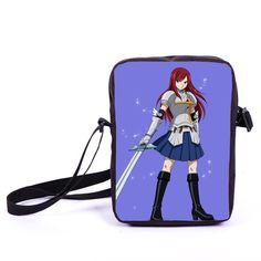 96ad0737915e Anime Fairy Tail Natsu Schoolbag Mini Messenger Bag Girls Bookbag Boys  School Bags Kids Book Bag Shoulder Bags For Snacks Lunch