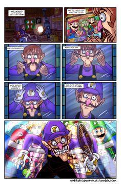 VHS/VR — nakedcosmonaut: Waluigi Begins Mario And Luigi, Mario Bros, All Mario Games, Mario Comics, Nintendo Game, Super Smash Bros Memes, Mario Memes, Little Mac, Super Mario Art