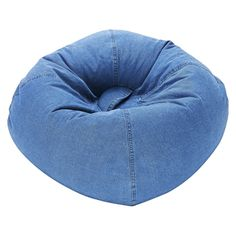 Ace Bayou Denim Bean Bag Chair