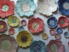 Carolina Creations Fine Art and Contemporary Craft: Ceramic Flower Pottery for our Garden Show