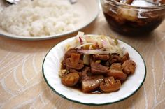Five Spice Chinese Pork Stew --  This is one of the newest things that I've been cooking in my kitchen the last couple of months.  My mom's recipe is with pork, whole eggs, marinated beancurd, and sponges. It was never eaten as a soup but eaten over white rice.