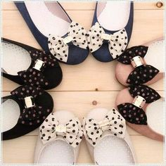 pretty balerina shoes