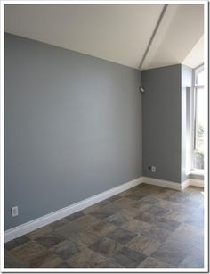 Trying to pick a colour for the bedroom and spare room, I've narrowed it down to this and a couple others lol gull wing grey by benjamin moore