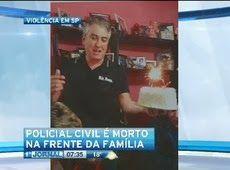 Galdino Saquarema Noticia: Investigador da polícia é morto na frente da famíl...