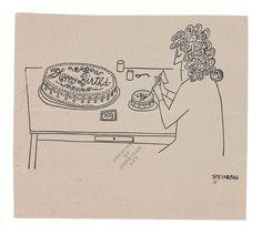 "archivesofamericanart: "" Happy Birthday Hedda Sterne (1910-2011)! Browsing the…"