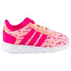 3a221a566881 Adidas Lite Racer Inf Girls Fw Org Pnk