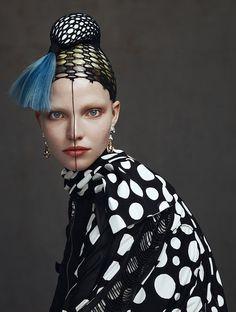 """ibbyfashion:  """"Sasha Luss by Kiki Xue by Vogue Italia  """""""
