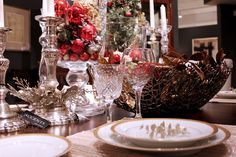 Its all about the containers, and candlesticks, what sparkle!