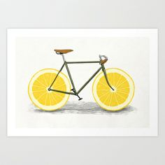Zest Art Print by Speakerine / Florent Bodart - $19.95
