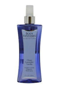 Body Fantasies Signature Clean Fragrance Body Spray for Women, Lavender Vanilla, 8 Ounce by Body Fantasies. $72.32. Product DescriptionBody Fantasies Signature Clean Fragrance Body Spray for Women, Lavender Vanilla, 8 Ounce