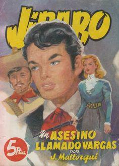 asesino llamado Vargas. Ed. Cliper, 1951 (Col. Jíbaro ; 5)