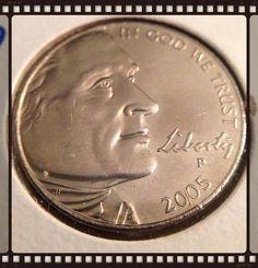 2005 P Buffalo Nickel Colorized