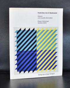 Artist : A. Stankowski title : Konkretes von Anton Stankowski publisher : Hatje pages : 4 / publication folder size :10 x 7.9 inches condition : near mint