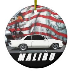 Custom 1979 Malibu Ceramic Ornament